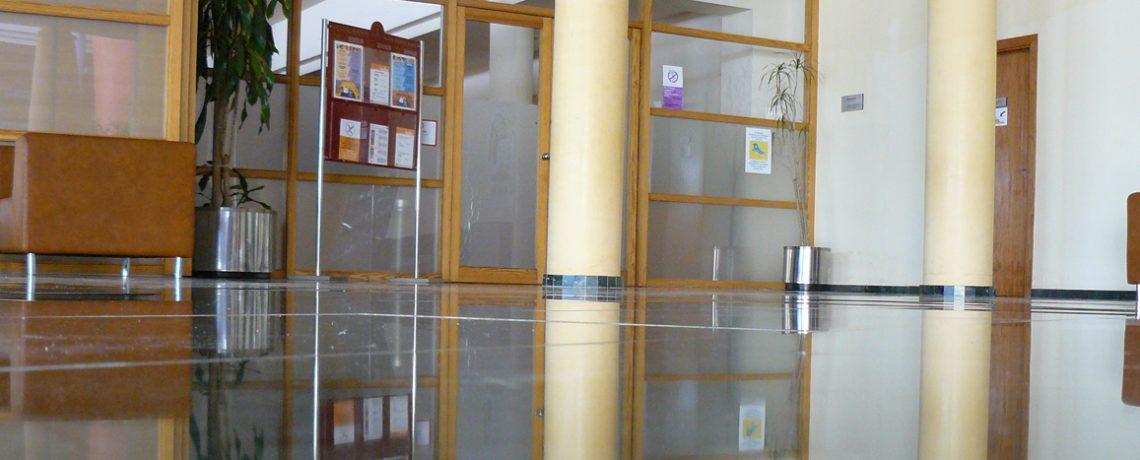 Kristallisering i ett kontor